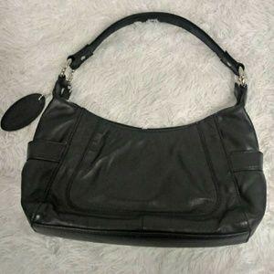 Women's Wilsons Leather Black Hobo Bag